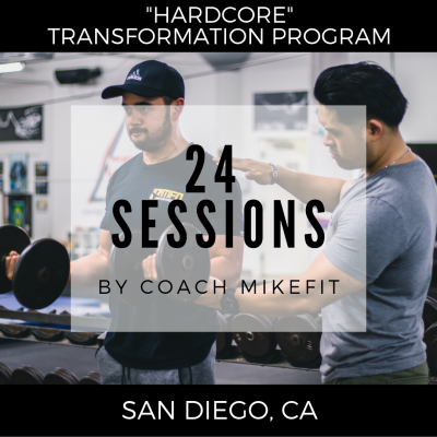 (24) Personal Training Sessions - Hardcore Transformation Program