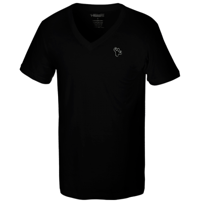 MFN Men's Classic V-Neck Shirt - Black
