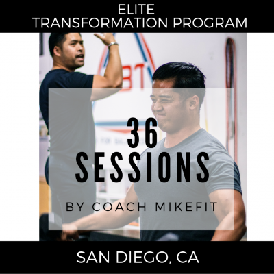 (36) Personal Training Session - Elite Transformation Program