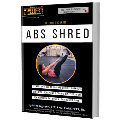 MFN AB SHRED (Ab Workouts at HOME) - 12 Week Program - Unisex