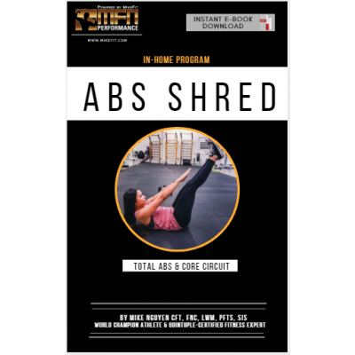 MFN AB SHRED (Ab Workouts at HOME) - 12 Week Program - Unisex - COMING SOON