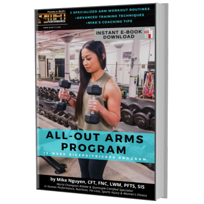 MFN ALL-OUT ARMS (3 Advanced Plateau-Breaker Routines For Arms) : 12 Week Gym Program - Unisex