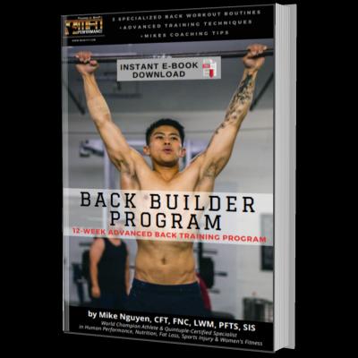 MFN BACK BUILDER (3 Advanced Plateau-Breaker Routines for Back) : 12 Week Gym Program - Unisex