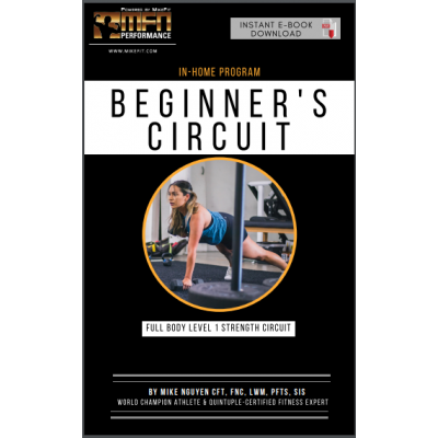 MFN FULL BODY BEGINNER'S HOME PLAN - 12 WEEKS - UNISEX