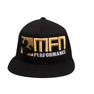 MFN Premium FlexFit Hat (Gold/Black)
