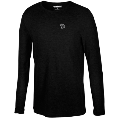 MFN Men's Thermal Long Sleeve Shirt - Black