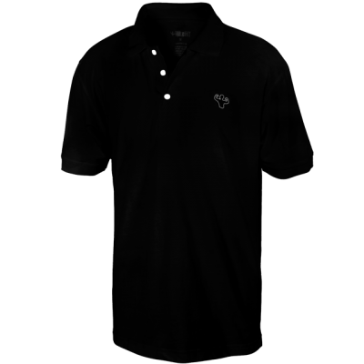 MFN Mens Polo Shirt - Black
