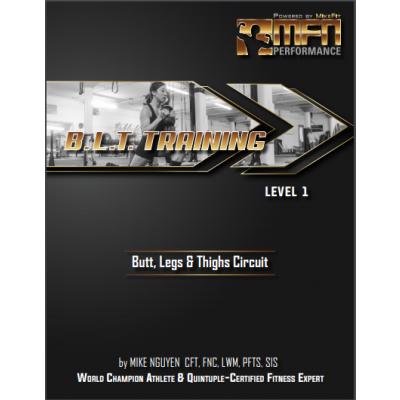 MFN BLT (Butt, Legs & Thighs Circuit Plan)