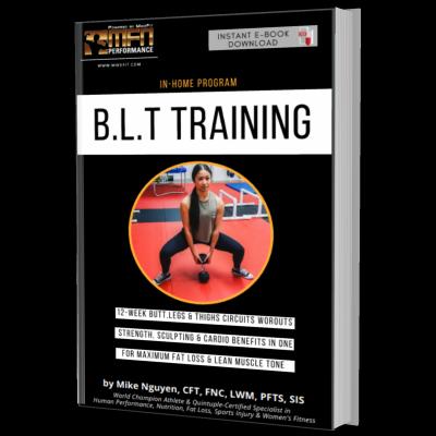 MFN BLT (BUTT,LEGS & THIGHS HOME PLAN) - 12 Weeks - Unisex