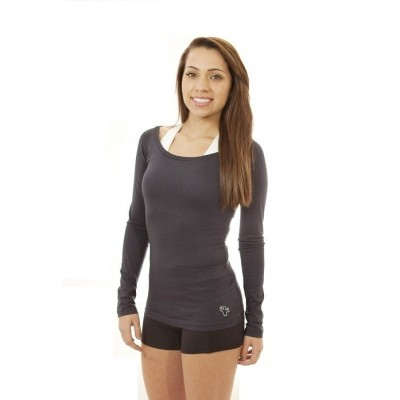 MFN Women's Boat-Neck Long Sleeve - Navy