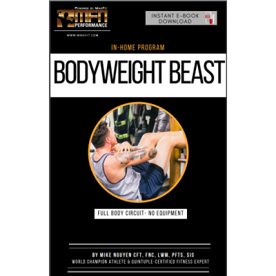 MFN BODYWEIGHT BEAST - NO EQUIPMENT HOME PLAN - 12 Weeks - Unisex