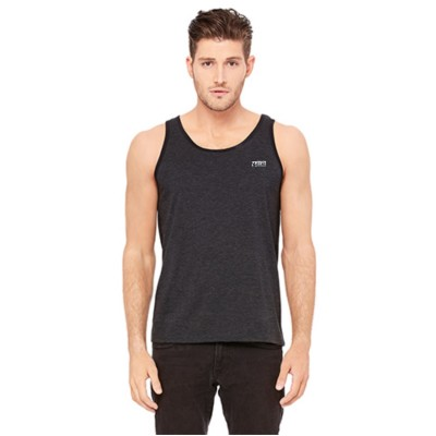 "MFN Men's Premium ""FLEX"" Tank Top - Charcoal/Black"