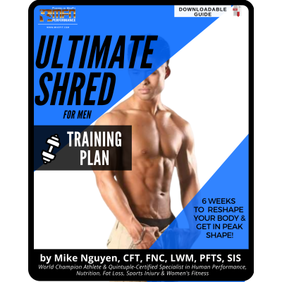 MEN'S ULTIMATE SHRED - TRAINING PLAN ONLY