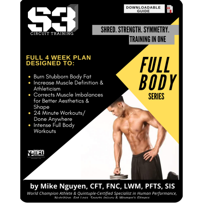 S3 CIRCUIT TRAINING PLAN - FULL BODY  (HOME)