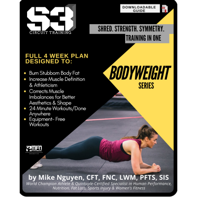 S3 CIRCUIT TRAINING PLAN - BODYWEIGHT SERIES - (HOME)