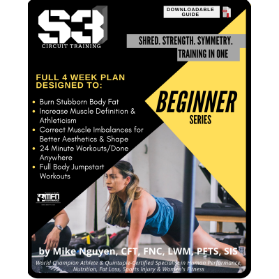 S3 CIRCUIT TRAINING PLAN - BEGINNER (HOME)
