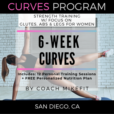6 Weeks to Curves Program ($65 per session or as low as $45 per session for groups)