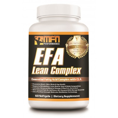 MFN EFA LEAN (MD Omega 3 Fish Oil + Flaxseed Oil + CLA Essential Fats) - Top Seller!