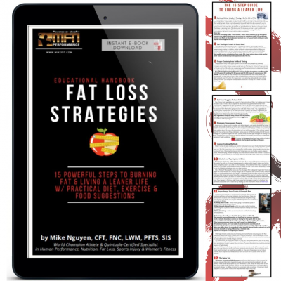 MFN Fat Loss Strategies Handbook (Burn Fat & Live & Leaner Life)