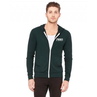 MFN Unisex Lightweight Hoodie - Emerald Green (Large)