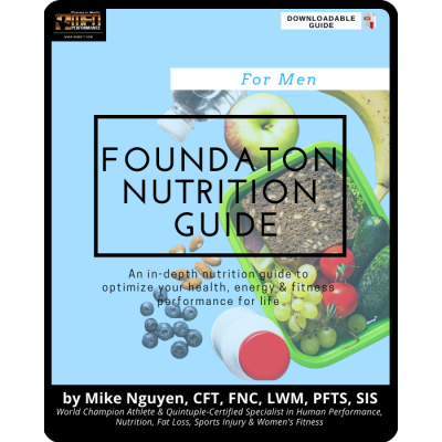 MFN FOUNDATION NUTRITION PROGRAM - FOR MEN