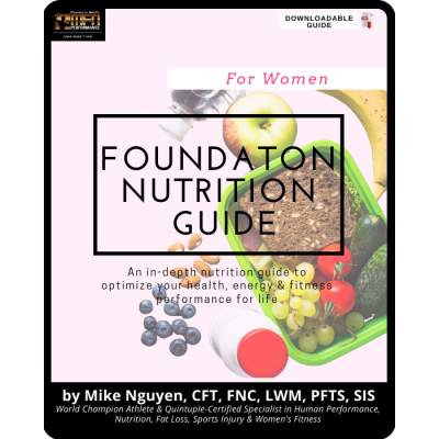 MFN FOUNDATION NUTRITION PROGRAM - FOR WOMEN