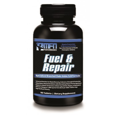 MFN PERFORMANCE FUEL & REPAIR (BCAA Formula for Muscle Protection & Recovery) - 90 Extra Potent Tablets - Buy 2 for price of 1