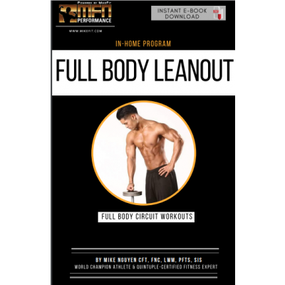 MFN FULL BODY LEANOUT (Full-Body Home Plan)  - 12 Weeks - Unisex
