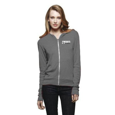 MFN Unisex Lightweight Fitted Hoodie - Grey
