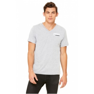 MFN Men's Premium V-Neck - Grey