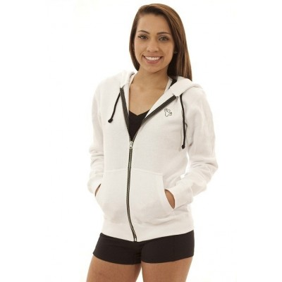 MFN Unisex Classic Fit Hoodie - White