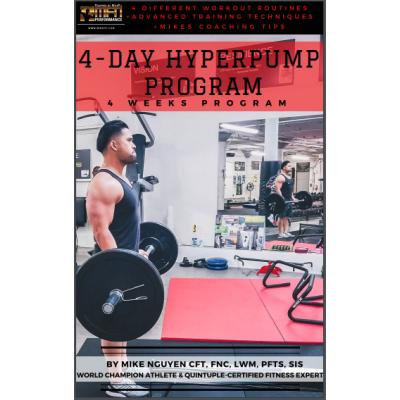 MFN HYPERPUMP PROGRAM - 4 Week Program - Unisex