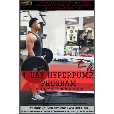 MFN 4-DAY HYPERPUMP PROGRAM (High-Volume Training)