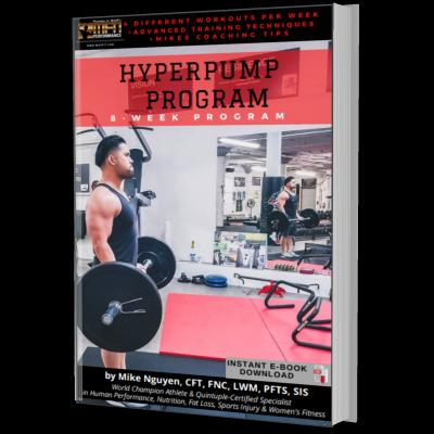 MFN HYPERPUMP PROGRAM - 8 Week Program - Unisex