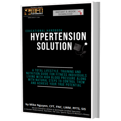 MFN HYPERTENSION SOLUTION HANDBOOK (Natural Ways to Control Blood Pressure & Achieve Your True Potential)