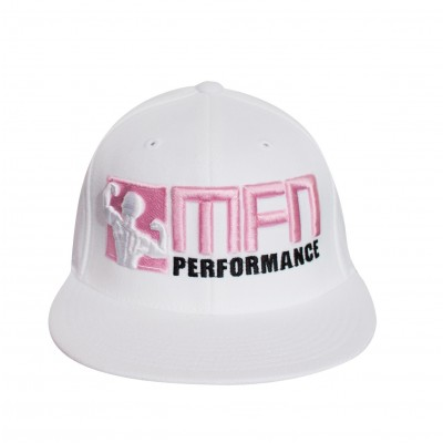 MFN Premium FlexFit Hat (Pink/White)