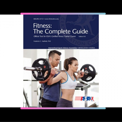 Certified Fitness Trainer Certification - by The International Sports Sciences Association (ISSA)