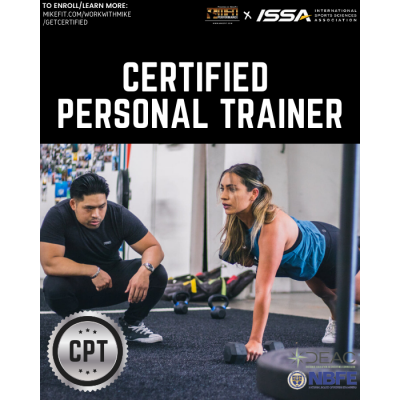 Certified Personal Trainer (ISSA) - PLEASE CALL TO ENROLL