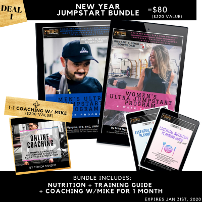 JumpStart Workout & Nutrition Guide Bundle