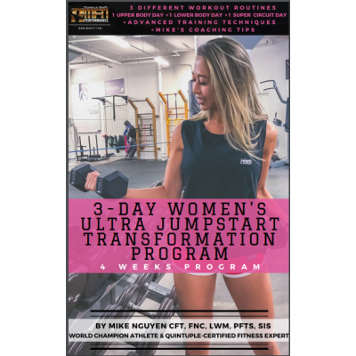 MFN 3-DAY WOMEN'S ULTRA JUMPSTART TRANSFORMATION PROGRAM