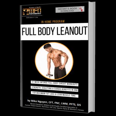 MFN FULL BODY LEANOUT (Full-Body Home Plan)  - 12 Weeks - Unisex