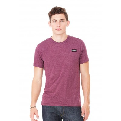 MFN Men's Crew Neck Shirt - Maroon