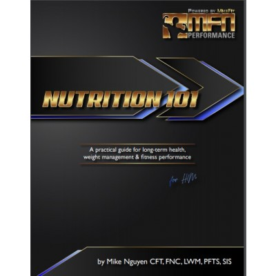 MFN Nutrition 101 for Men (Complete Meal Plan + Food List + Nutrition Guide) - INSTANT DOWNLOAD E-BOOK