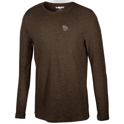 MFN Men's Thermal Long Sleeve Shirt - Brown