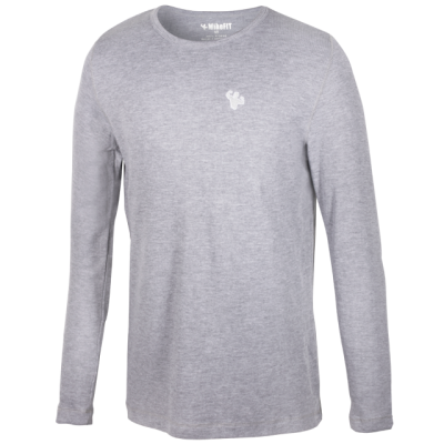 MFN Men's Thermal Long Sleeve Shirt - Grey