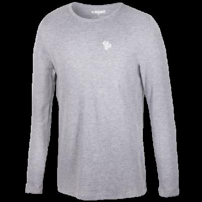 MFN Men's Thermal Long Sleeve Shirt - Grey