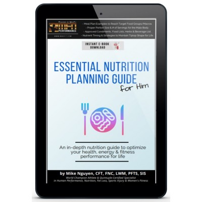 MFN ESSENTIAL NUTRITION PLANNING GUIDE - FOR HIM