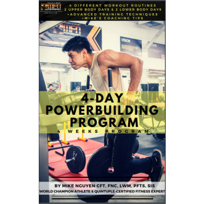 MFN 4-DAY POWER-BUILDING PROGRAM