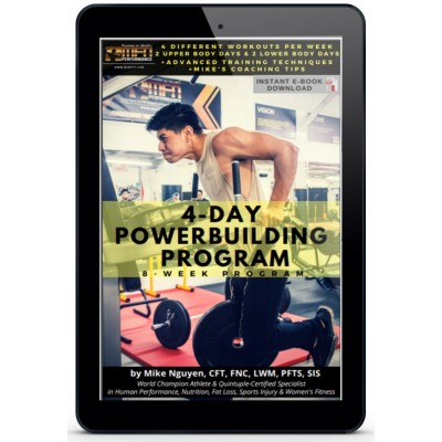 8-WEEK POWER-BUILDING PROGRAM (GYM)