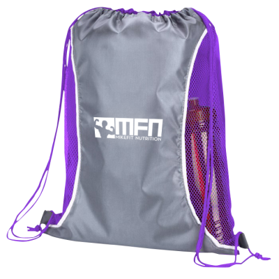 MFN Drawstring Sport Bag (Purple)